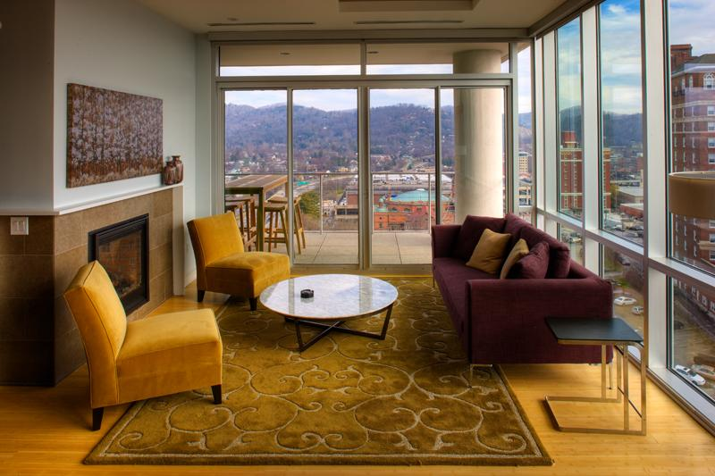 Great views - Suites at 151- Asheville's luxury condo rental - Asheville - rentals