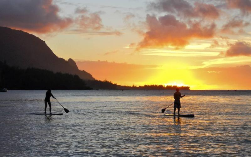Stand Up Paddle-Boards Included At House Of Dreams - Luxury Kauai Vacation Rental - Princevilles Finest - Princeville - rentals