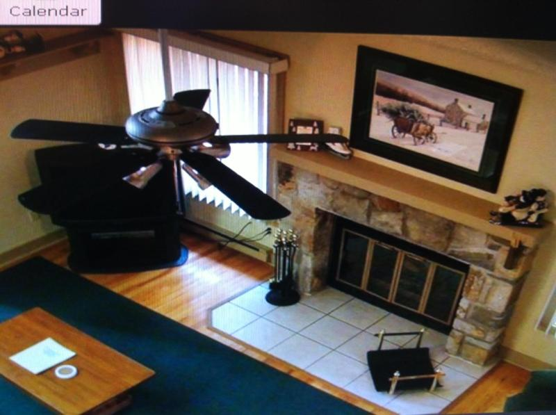 loft view of living room area - On Jack Frost Ski Mountain, minutes to slopes!! - Lake Harmony - rentals
