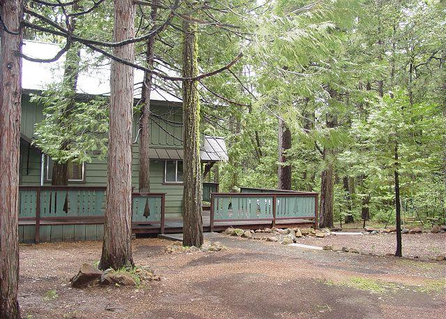 Exterior - View 1 - 3 BR / 2 BA / Family Room; Sleeps 6-8.  Secluded! - Twain Harte - rentals