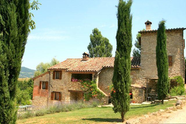 Ca' I Bracco exterior - Ca di Bracco Superb Farmhouse with Pool & Hot Tub - Umbertide - rentals