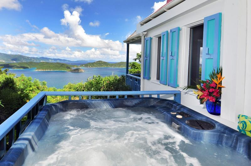Hot tub - Sago Cottage - Coral Bay - rentals