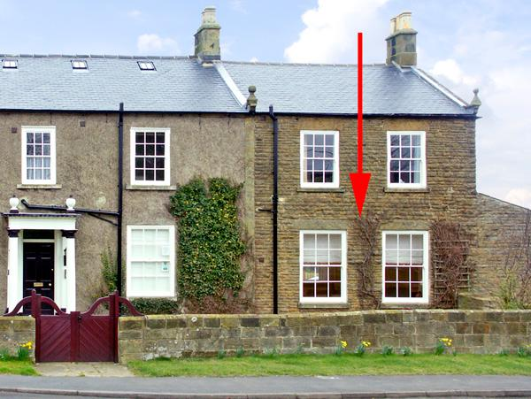 APARTMENT 1 SNEATON HALL, family friendly, character holiday cottage, with a garden in Sneaton Near Whitby, Ref 2392 - Image 1 - Sneaton Near Whitby - rentals