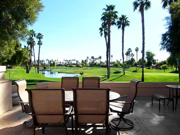 South-Facing View From Patio - Palm Valley Country Club - Palm Desert - rentals