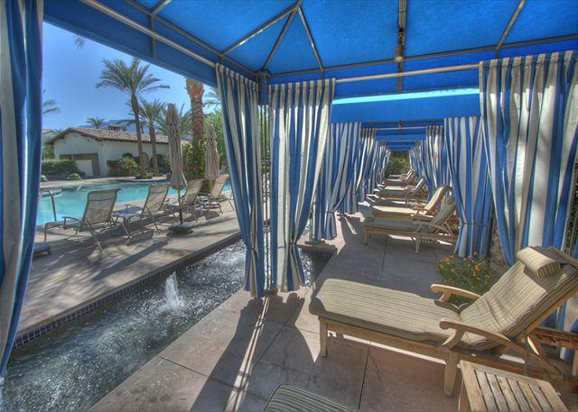 Resort Style Pool - Beautiful 3 bedroom upper level villa with patio views of the mountain - La Quinta - rentals