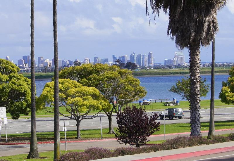View of City Skyline from deck of house - Bay Front Luxury at Family Friendly Prices - San Diego - rentals