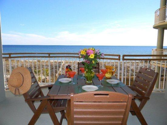 Balcony View - Beach Colony Resort 3A - Navarre - rentals
