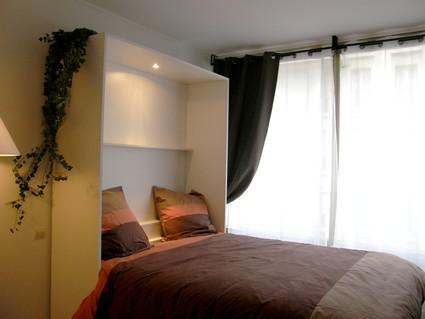 Perfect studio for 2 in Batignolles-Monceau (Rue des Acacias - apt #5 (75017)) - Image 1 - Paris - rentals