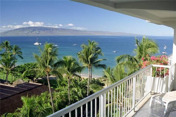 Comfortable House with 1 BR/1 BA in Lahaina (Whaler #759 (1/1 Ocean View)) - Image 1 - Lahaina - rentals
