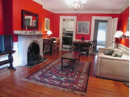Living room - South End Suite (M365-1) - Boston - rentals