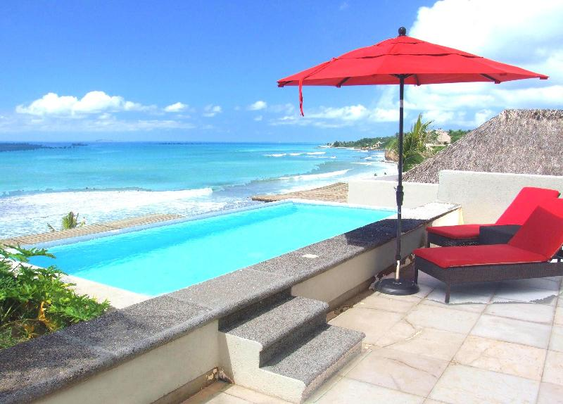 Private pool view  - On the beach... private pool luxury and sunsets - Punta de Mita - rentals