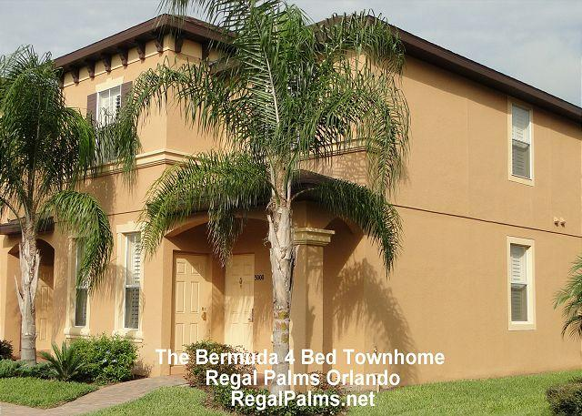 4 Bed 3 Bath Townhome - 4 Bed 3 Bath Town Home At Regal Palms Resort Orlando Florida PE226BG - Davenport - rentals