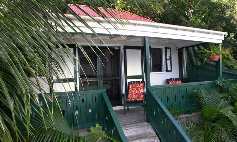 Exterior of Windwardside Guest Cottage - Windwardside Cottage: view, spa, quiet OCT. 20 OFF - Coral Bay - rentals