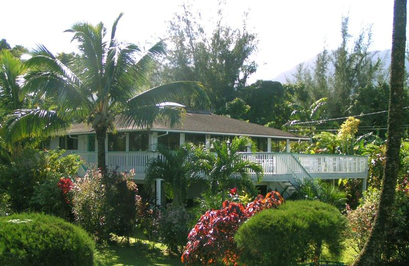 Spectacular Home & Views on Hanalei Bay! (Paulele) - Image 1 - Hanalei - rentals