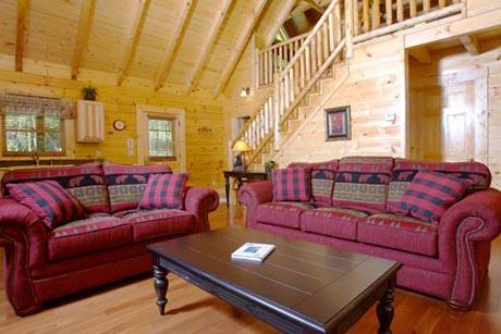 Cabin - Around The Mountain one bedroom Pigeon Forge Cabin - Sevierville - rentals