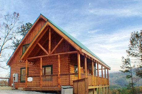 Cabin - Heavenly View a one bedroom Pigeon Forge Cabin - Pigeon Forge - rentals