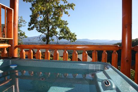 Cabin - Movie N' A View a two bedroom cabin - Sevierville - rentals