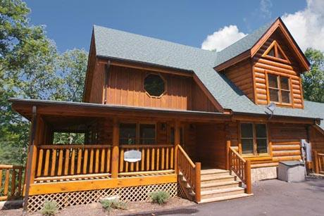 Cabin - Wine Down a four bedroom cabin - Sevierville - rentals