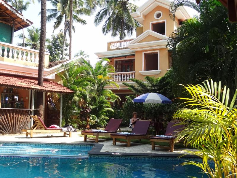 Peace and tranquility - Sandray Luxury Resort, Goa - Sernabatim - rentals