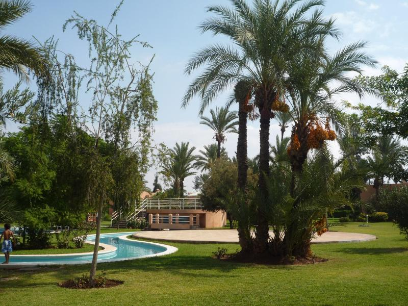Pool and Garden - Beautiful Riad in the Marrakech Palm Grove - Marrakech - rentals