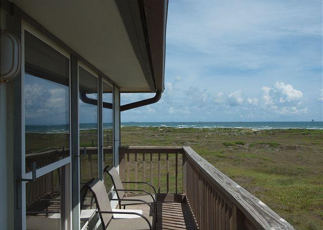 2 bedroom 2 bath condo with one of the best views at Beachhead! - Image 1 - Port Aransas - rentals
