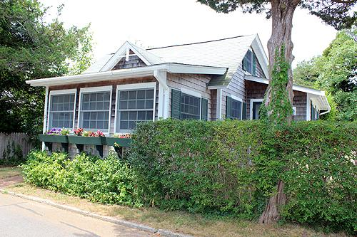 1550 - CHARMING IN-TOWN COTTAGE WITH LOVELY PATIO - Image 1 - Edgartown - rentals