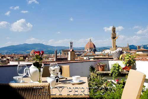 Fabulous Views, 2 Terraces!  You'll love Amore - Image 1 - Florence - rentals