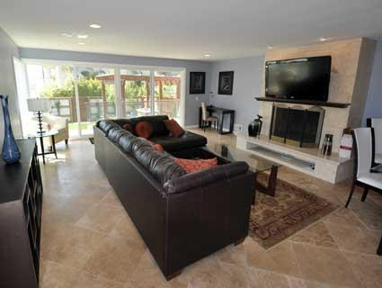 Living Room - Luxurious Beach House - Marina del Rey - rentals