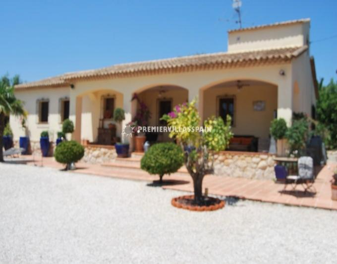 Finca Rosa - Jalon Sleeps 2 to 6 - Image 1 - Jalon - rentals