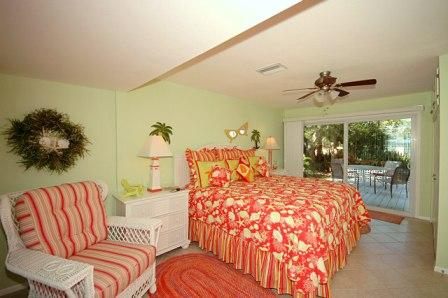 Beautiful Romantic Bedroom with Deck - 316 Hardin A - Anna Maria - rentals