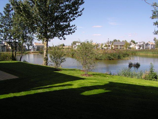 View from the house - Beautiful lake fronted home with spa - Cirencester - rentals