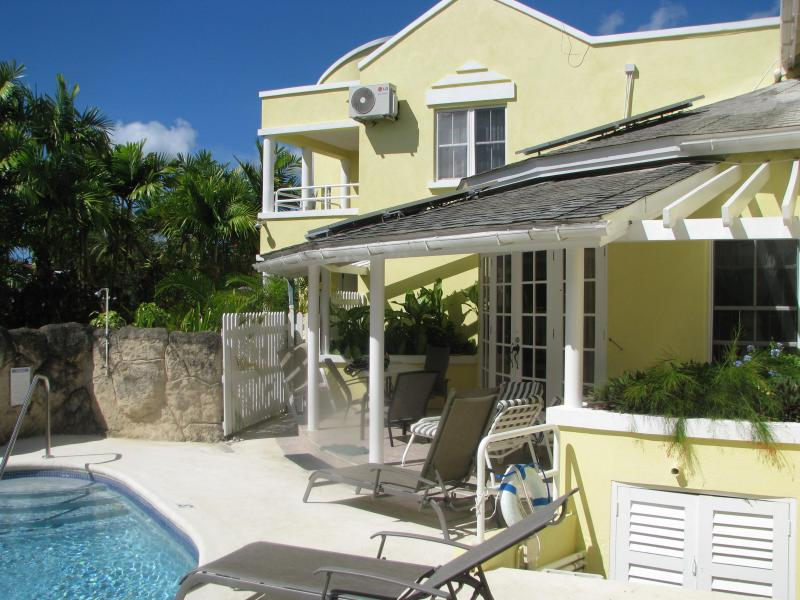 Waterfall Pool--Pool and Deck - Vida Mejor  --Waterfall Pool villa - Holetown - rentals
