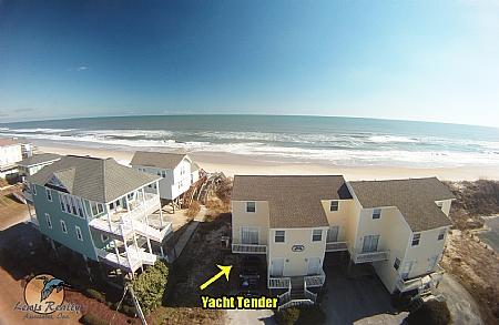 Bird's Eye View of Yacht Tender - Yacht Tender, 2982 Island Dr~~~Save $50!!~~~ - North Topsail Beach - rentals