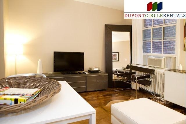 Modern Luxury One Bedroom Apartment in Best Location - 2 blocks to metro - Image 1 - Washington DC - rentals