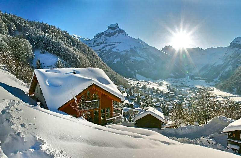 ALPHAVEN  Winter views over Engelberg - ALPHAVEN 4 Luxury Apartments Stunning Views Sauna - Engelberg - rentals