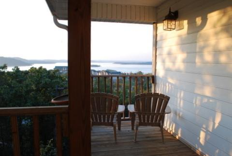 Stunning view of Table Rock Lake from the upper deck! - Stunning Home With Panoramic Views of Table Rock! - Branson - rentals