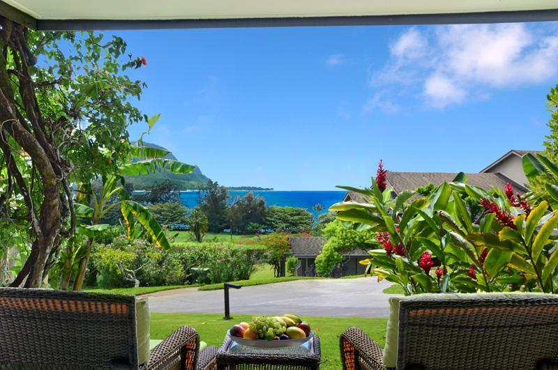 Bali Hai ocean view from private lanai - Breathkaking Panoramic Bali Hai with Ocean Views - Princeville - rentals