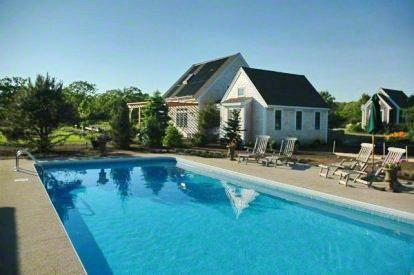 CLASSIC VINEYARD HOME ON THREE ACRES WITH POOL - EDG KHAN-34A - Image 1 - Edgartown - rentals