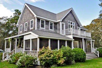 SANDY FEET RETREAT WITH GUEST HOUSE - EDG KJOH-06 - Image 1 - Edgartown - rentals