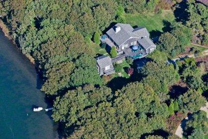 EDGARTOWN GREAT POND FOUR-ACRE COMPOUND WITH DOCK - KAT TREY-82 - Image 1 - Edgartown - rentals