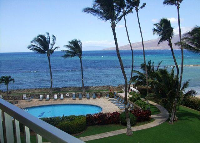 Panoramic Ocean Views From Lanai - Menehune Shores #401 Ocean View 2bd 2bath  Great Rates! - Kihei - rentals