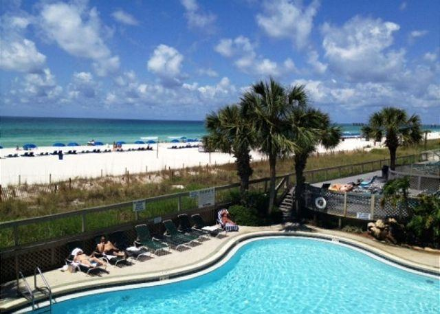 BEACHFRONT FOR 4! BEACH + POOL VIEWS! OPEN 10/4-11! TAKE 15% OFF! - Image 1 - Panama City Beach - rentals