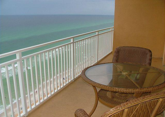 Balcony Gulf View - BEACHFRONT & FAMILY FRIENDLY FOR 8! GREAT FALL RATES FOR SEPT/OCT - Panama City Beach - rentals