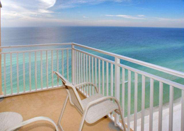 Balcony Gulf View - BEACHFRONT & FAMILY FRIENDLY FOR 8! OPEN 8/23-30! TAKE 5% OFF! - Panama City Beach - rentals