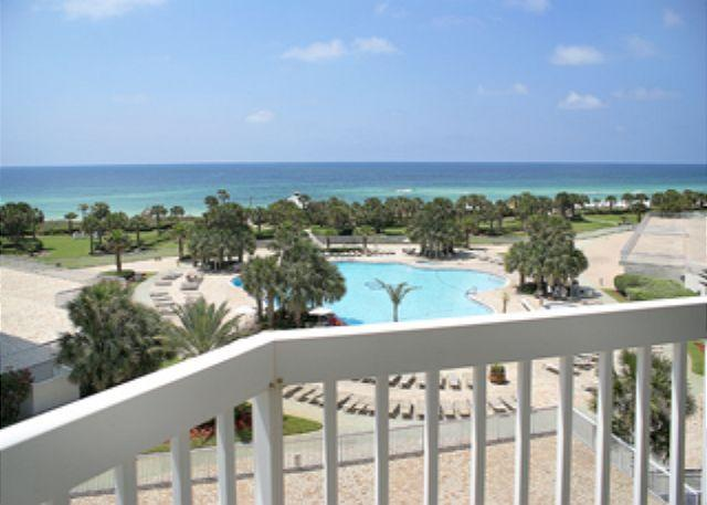 Balcony Pool & Gulf View - BEACHFRONT FOR 6!! GREAT VIEWS! OPEN 8/30-9/6!NOW 20% OFF! - Destin - rentals
