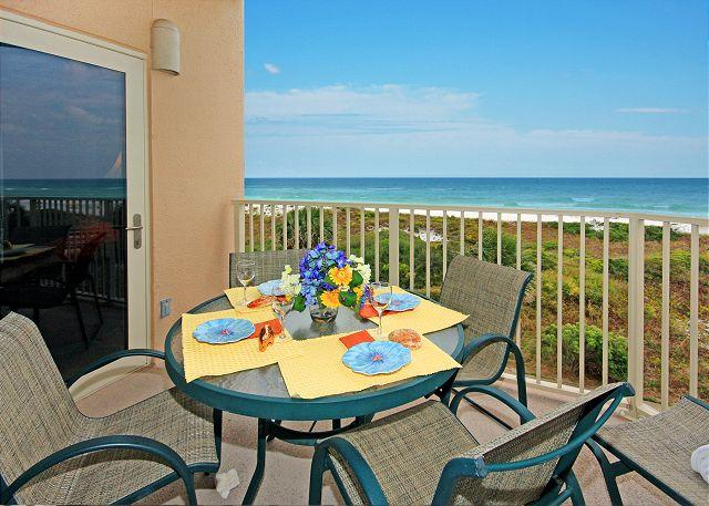 View from YOUR balcony! - BEACHFRONT FOR 6! BEAUTIFUL VIEWS! OPEN 8/30-9/6! TAKE 5% OFF! - Destin - rentals