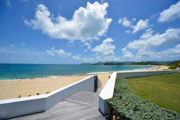 Enjoy this beachfront Baie Rouge villa with your family or another couple. C HEL - Image 1 - Baie Rouge - rentals