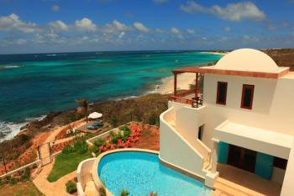 Privacy, relaxed elegance and exquisite views- this villa is steps from the beach. IDP BLA - Image 1 - Anguilla - rentals