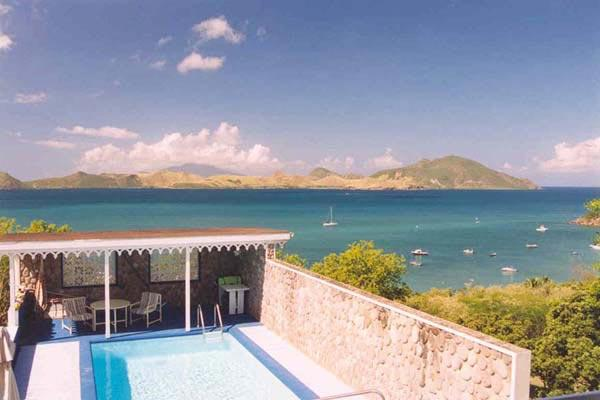 Overlook the channel between St. Kitts and Nevis from this villa. 5-7 min walk to beach. KL LAB - Image 1 - Saint Kitts and Nevis - rentals