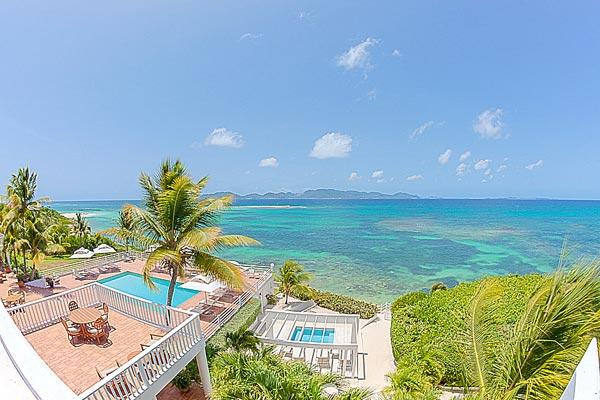 Exquisite, gated beachfront villa- this is a preferred celebrity hideaway. RIC PAR - Image 1 - Little Dix - rentals